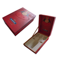 De luxe wine bottle presentation packaging boxes for Martell 1715