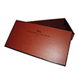 Empty square chocolate candy packaging boxes wholesale for LA MAISON DU CHOCOLAT
