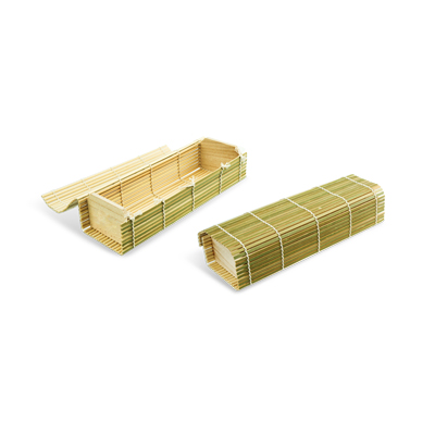 eco friendly cheap custom bamboo wooden food safe meal packaging boxes  |