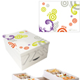 Custom food product retail packaging boxes supplies for Room Saveurs |