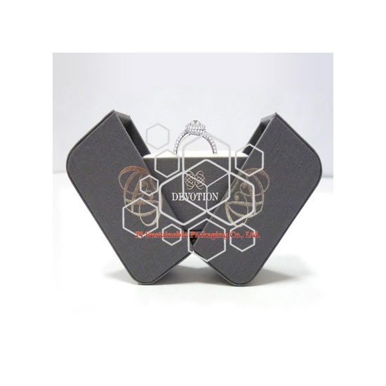 Devotion luxury mens jewelry display packaging boxes