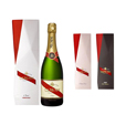 wine box for Mumm (paper box in Diamond shape)